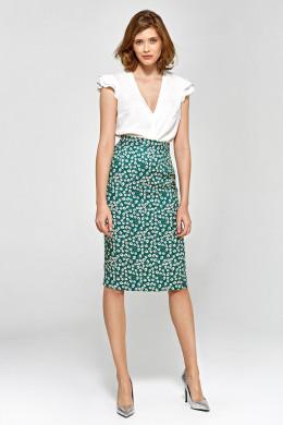c2d1c83b788b Puzdrová sukňa Colett csp03 - zelená