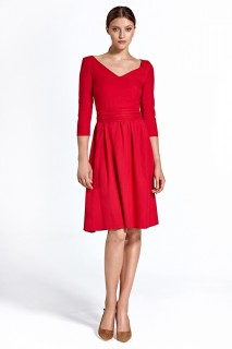 d40855a0e9a84 Spoločenské šaty Colett - červené